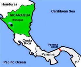 Nicaragua Location